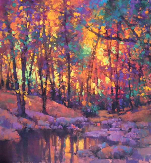 Fall Trees | Pastel Artist | Teresa Saia | Artists Network