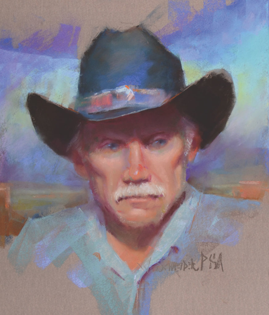 Them's Fightin' Words by William Schneider | Blending Pastels – When and Why | Pastel Journal, Artists Network