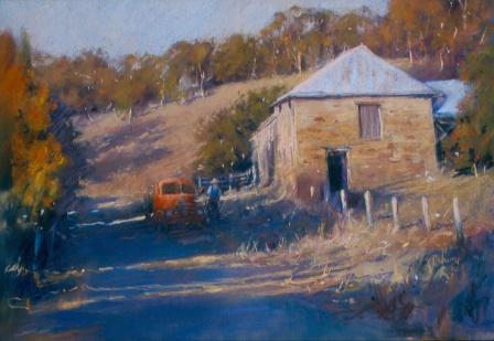 Yandoit, Autumnal Colors by Joanne Seberry