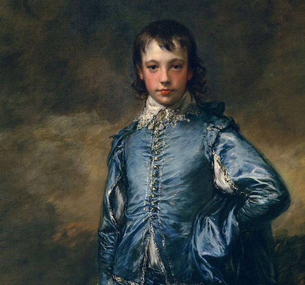 Conservation rescue mission on The Blue Boy by Thomas Gainsborough, 1770, portrait painting
