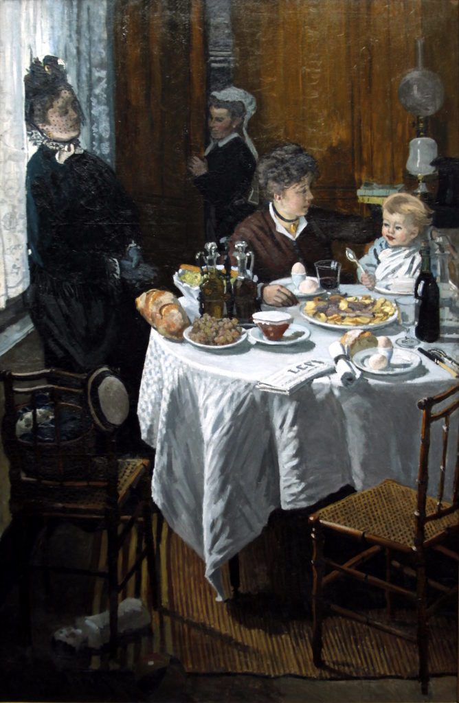 The Luncheon by Claude Monet | A Lesson from Claude Monet on Facing Rejection as an Artist | Artists Network