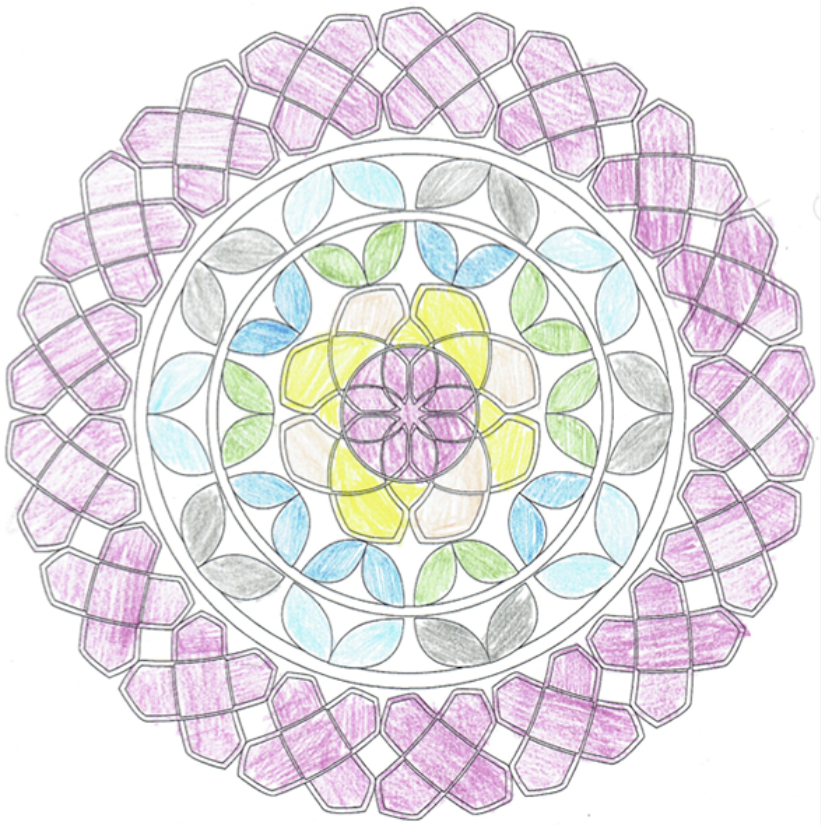 coloring | adult coloring book | mindfulness | mood boosting