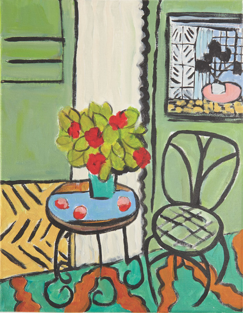 Henri Matisse Inspiration | Artist Ancestors | Art Inspiration | Acrylic Painting | Annie O'Brien Gonzales | Artists Network