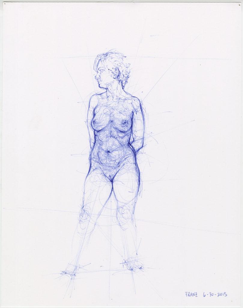 Jason Franz - Ballpoint Pen - Inktober - Artist's Network