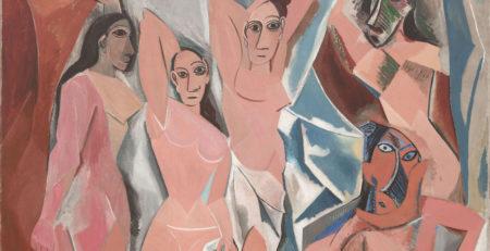 Pablo Picasso Les Demoiselles