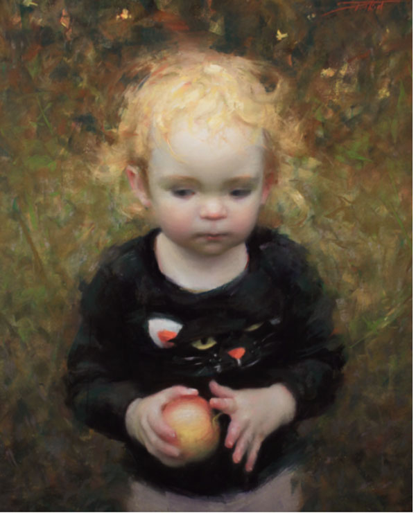 19th_Annual_Pastel_100_Competition_Silver_Pitkin_The_Golden_Apple | artistsnetwork.com