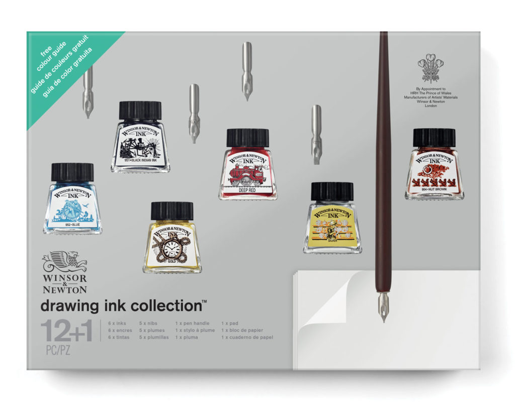 fall products winsor and newton
