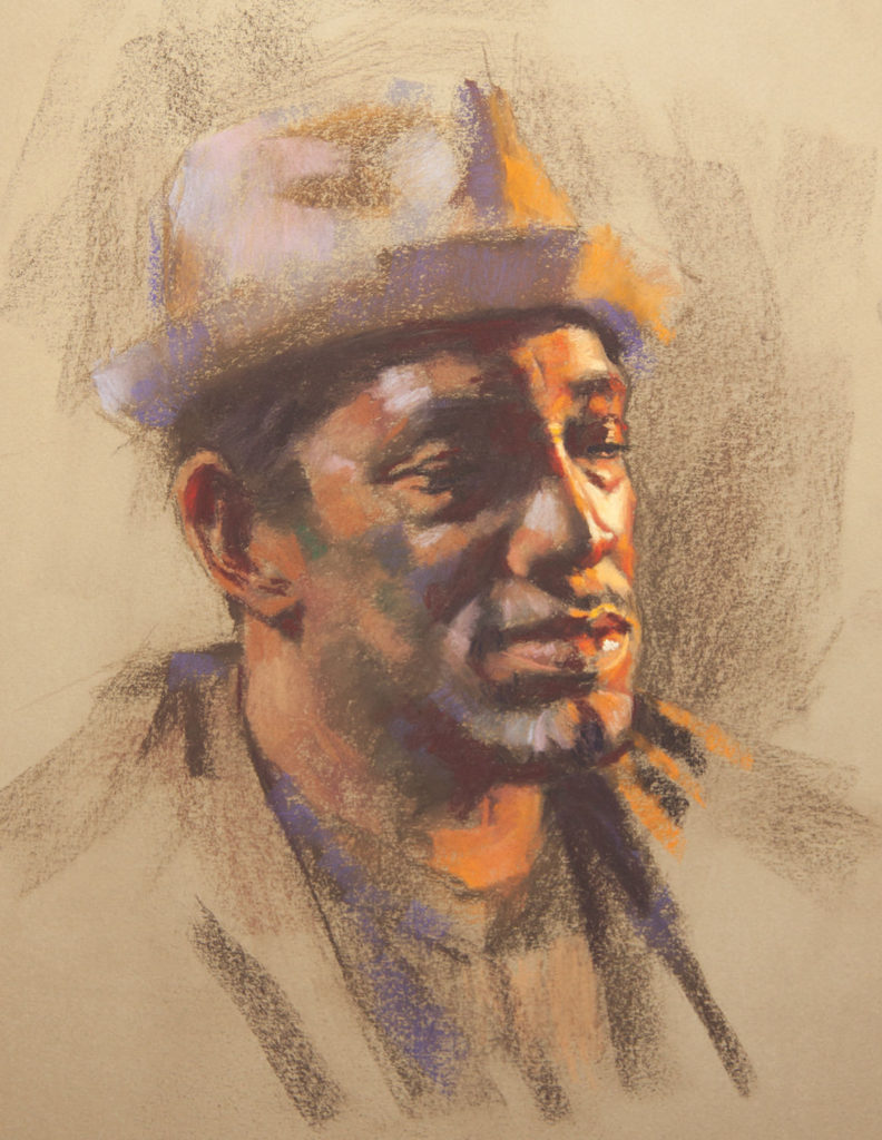 Step 8: Creating Pastel Portraits with Gwenneth Barth-White   Pastel Journal
