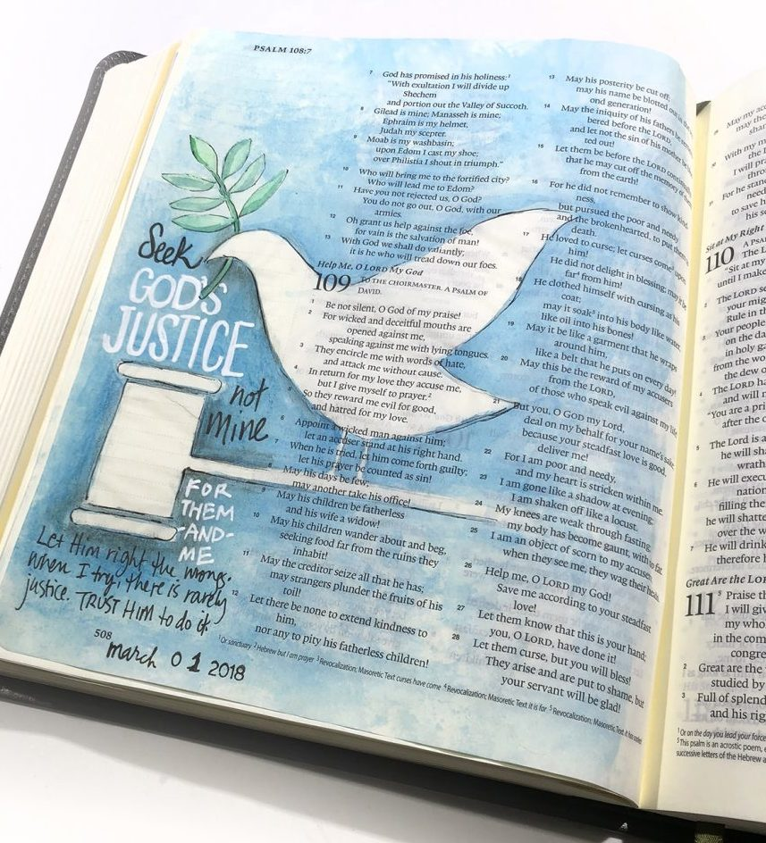 justice-1024x1024 bible journaling