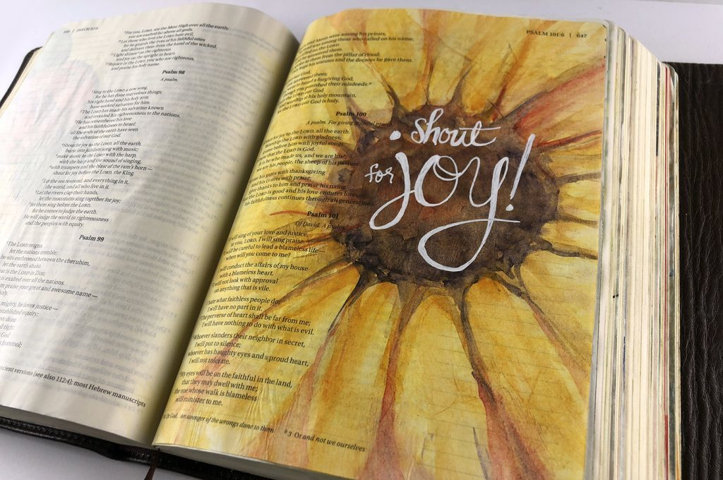 sunflower-1024x768 bible journaling