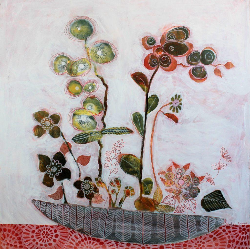 Still Life in Red by Sandrine Pelissier