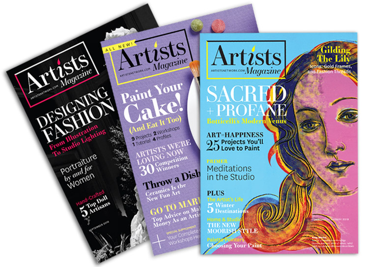Subscribe to Artists Magazine