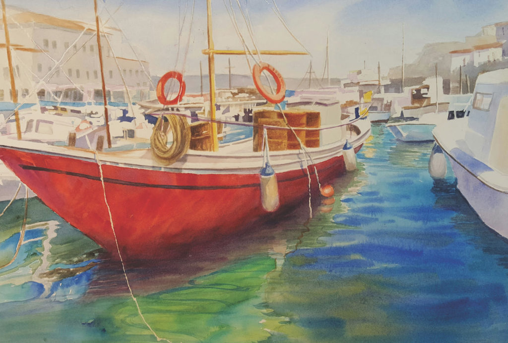 Learn how to turn simple shapes into paintings   Watercolor Artist