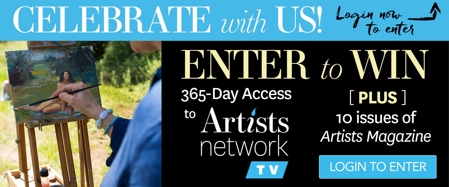Artists Network Relaunch Giveaway