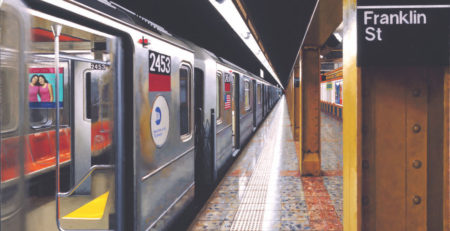 Daniel E Greene | Studios and Subways | Subway Art | Artists Network