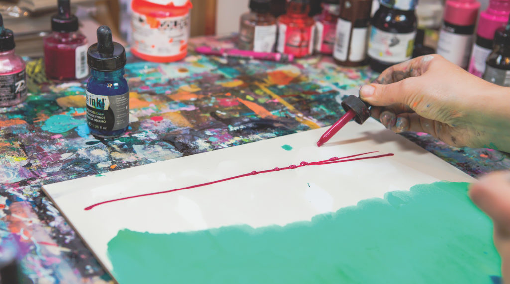 Holidays | Holiday Painting Demo | Intuitive Painting Workshop | Artists Network