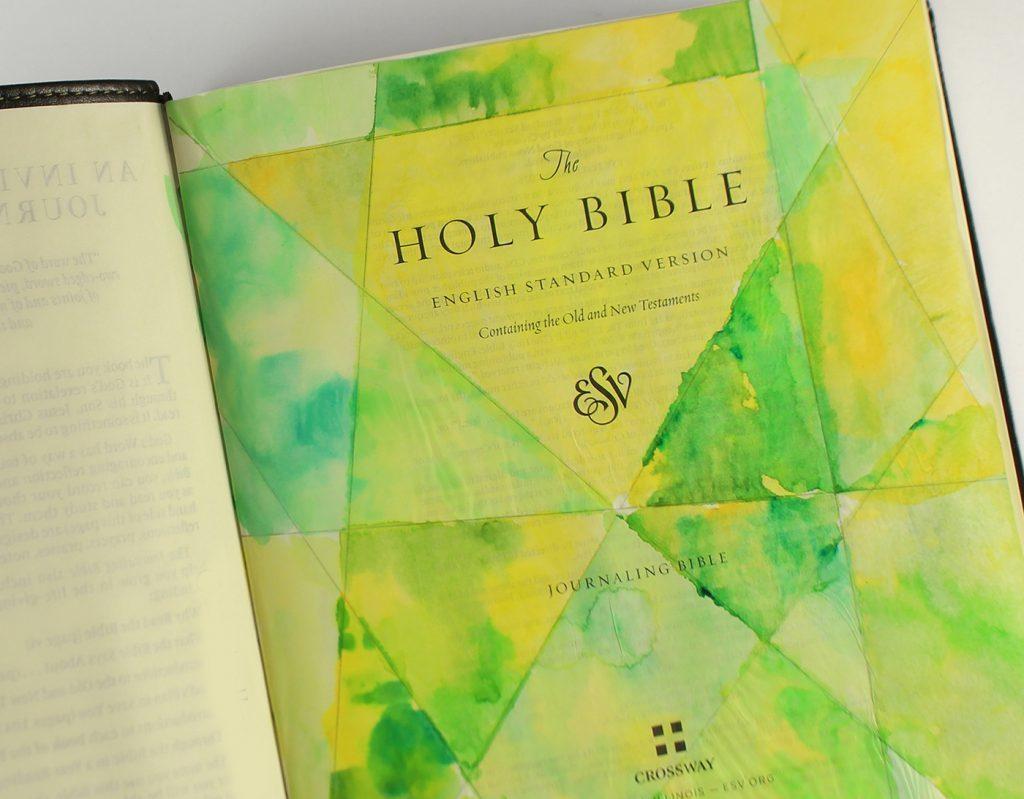 bible journal 1