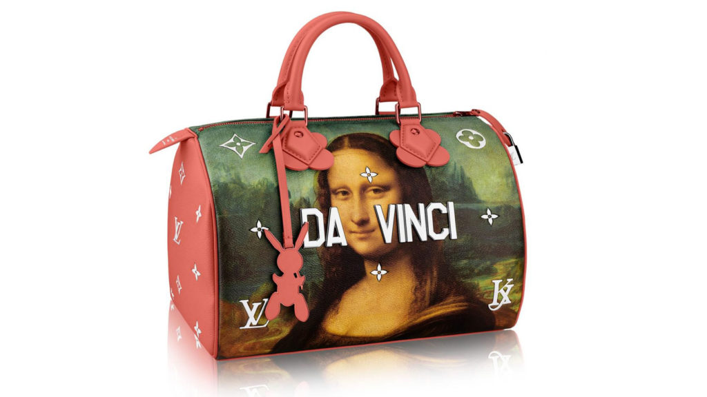 Koons Vuitton bag