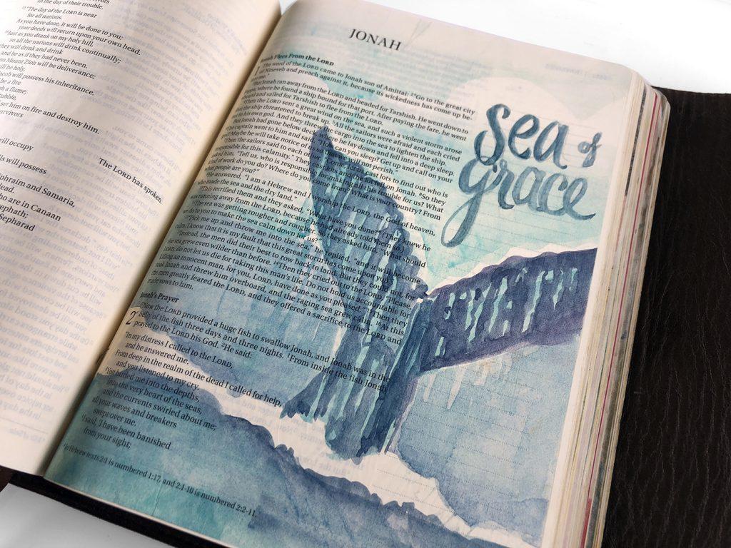 bible journal jonah