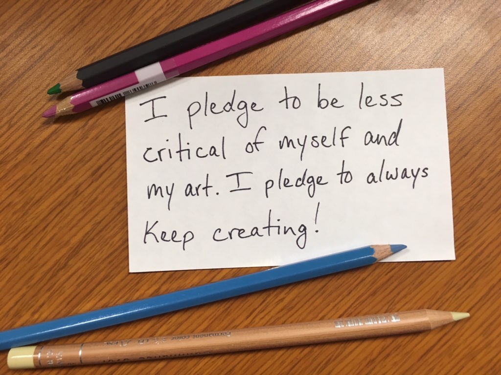 Inclusive art pledge | Artists Network