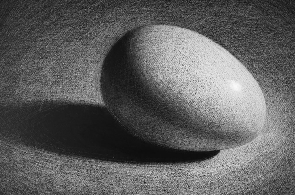 Drawing Light | White Pencil on Dark Surface | Brent Eviston | Artists Network