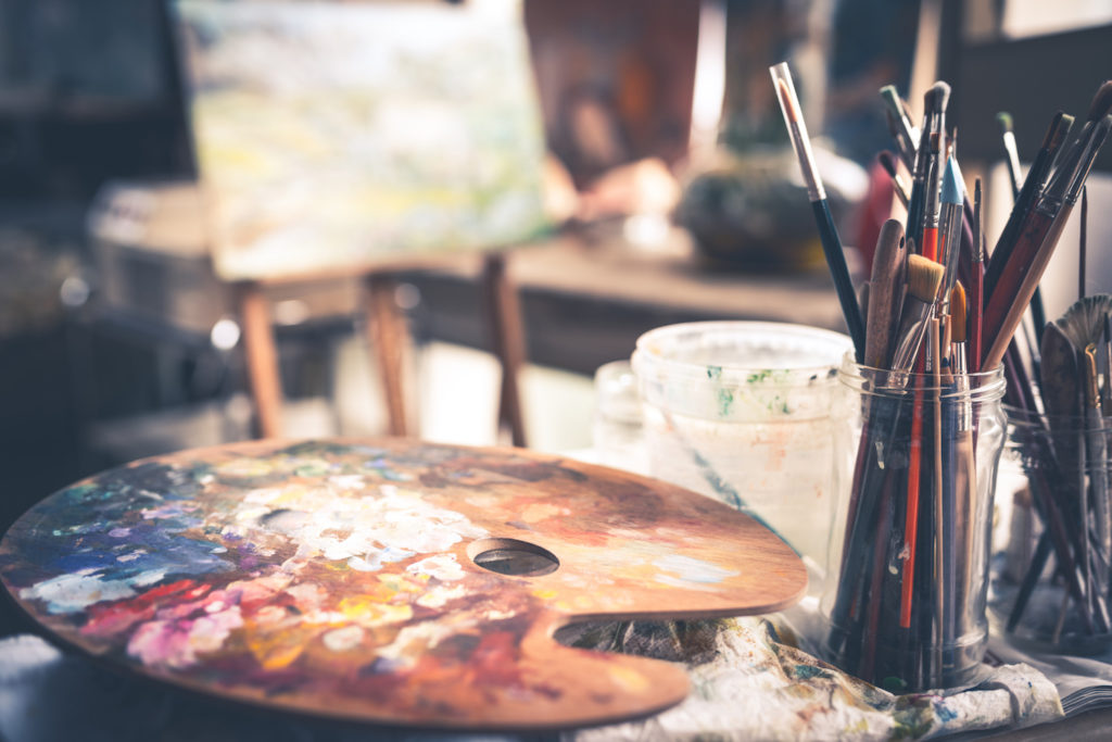 Artist Studio | Art Supplies | Art Materials | Getty Images | Artists Network