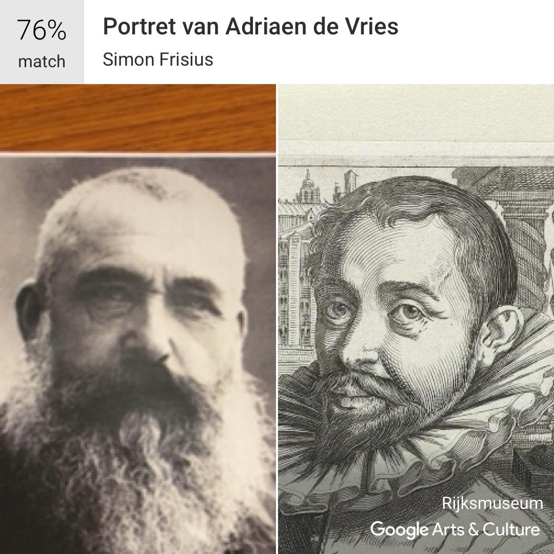 Monet meets the google selfie app