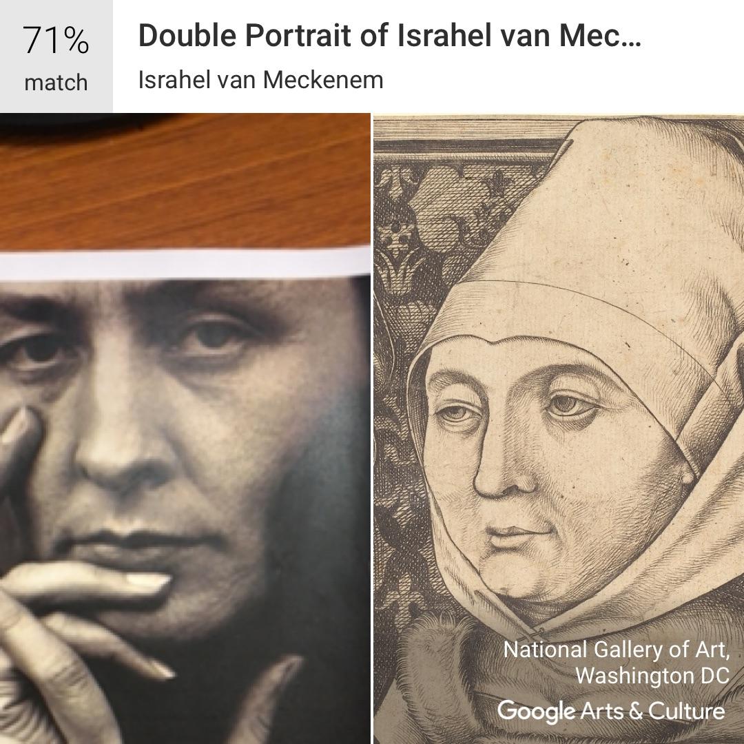 Google Arts and Culture app on Georgia O'Keeffe