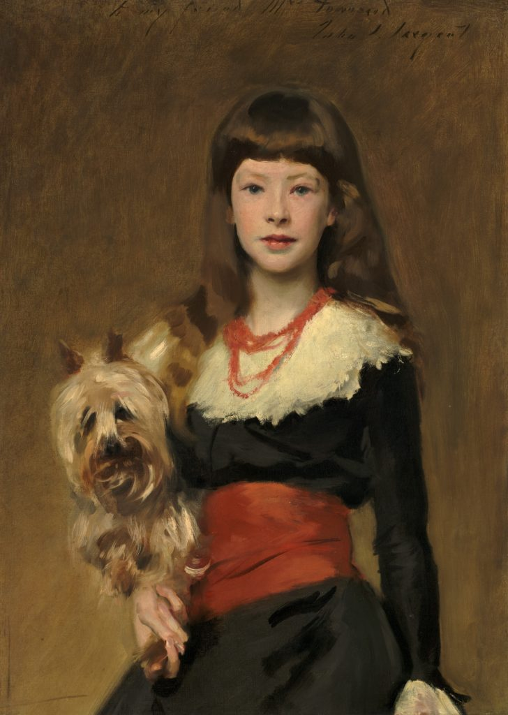 Miss Beatrice Townsend by John Singer Sargent, 1882