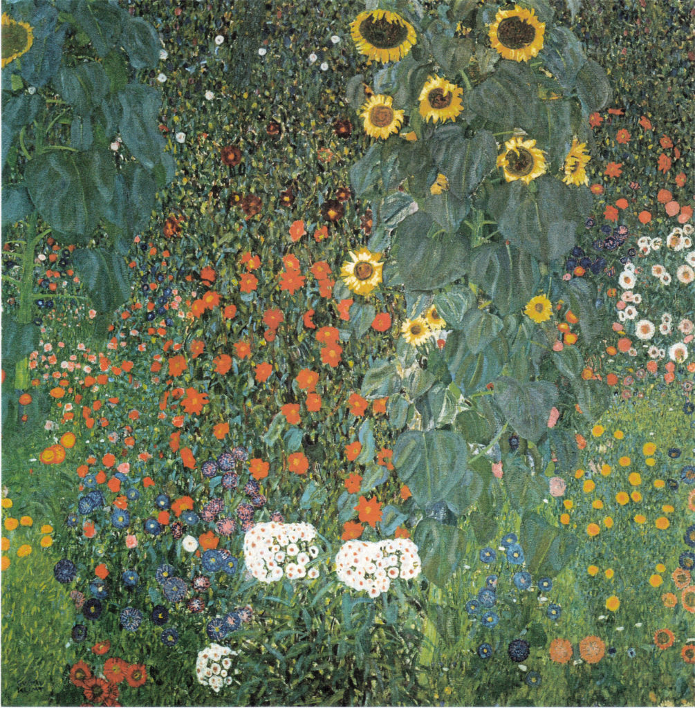 The Sunflower by Gustav Klimt
