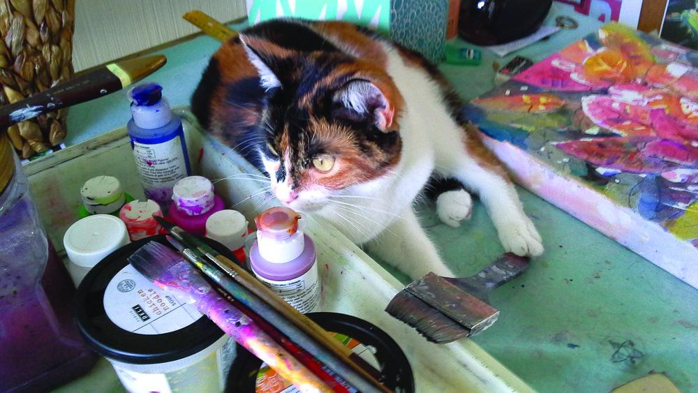 LillyCat jean grastorf studio staples artistsnetwork