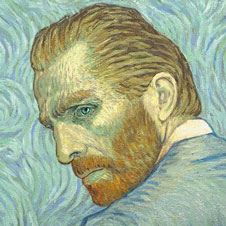 Loving Vincent film poster, detail