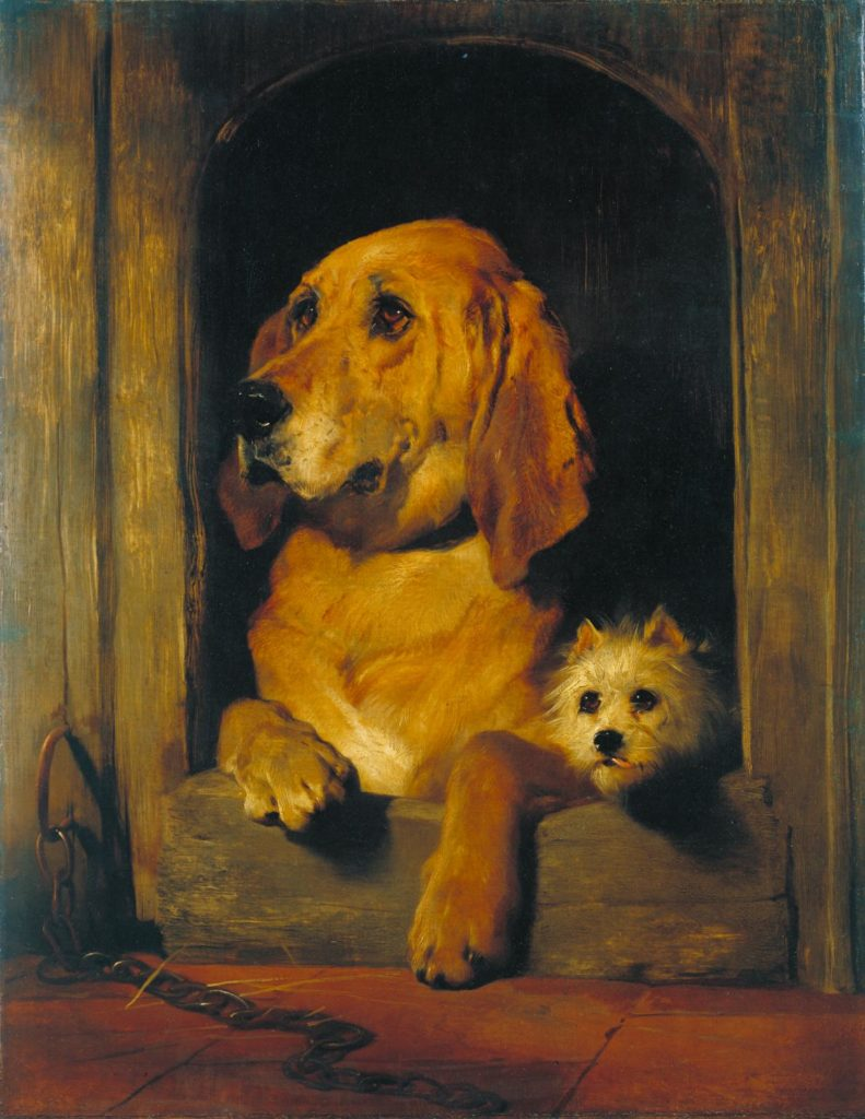 Dignity and Impudence by Edwin Henry Landseer, 1839