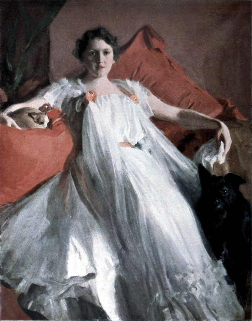 Madame Ashley by Anders Zorn, 1920