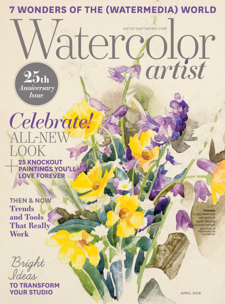 Artists Network | Watercolor Artist 25th Anniversary
