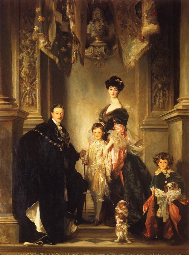 The Marlborough Family by John Singer Sargent, 1905