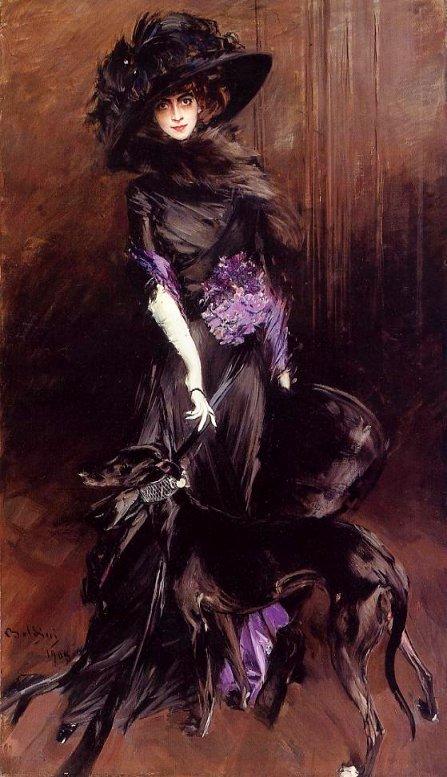 La Marchesa Luisa Casati by Giovanni Boldini