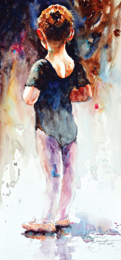 painting_loose_Jozwiak_Tiny_Dancer | artistsnetwork.com