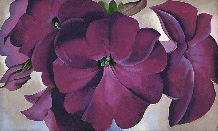 Petunias by Georgia O'Keeffe