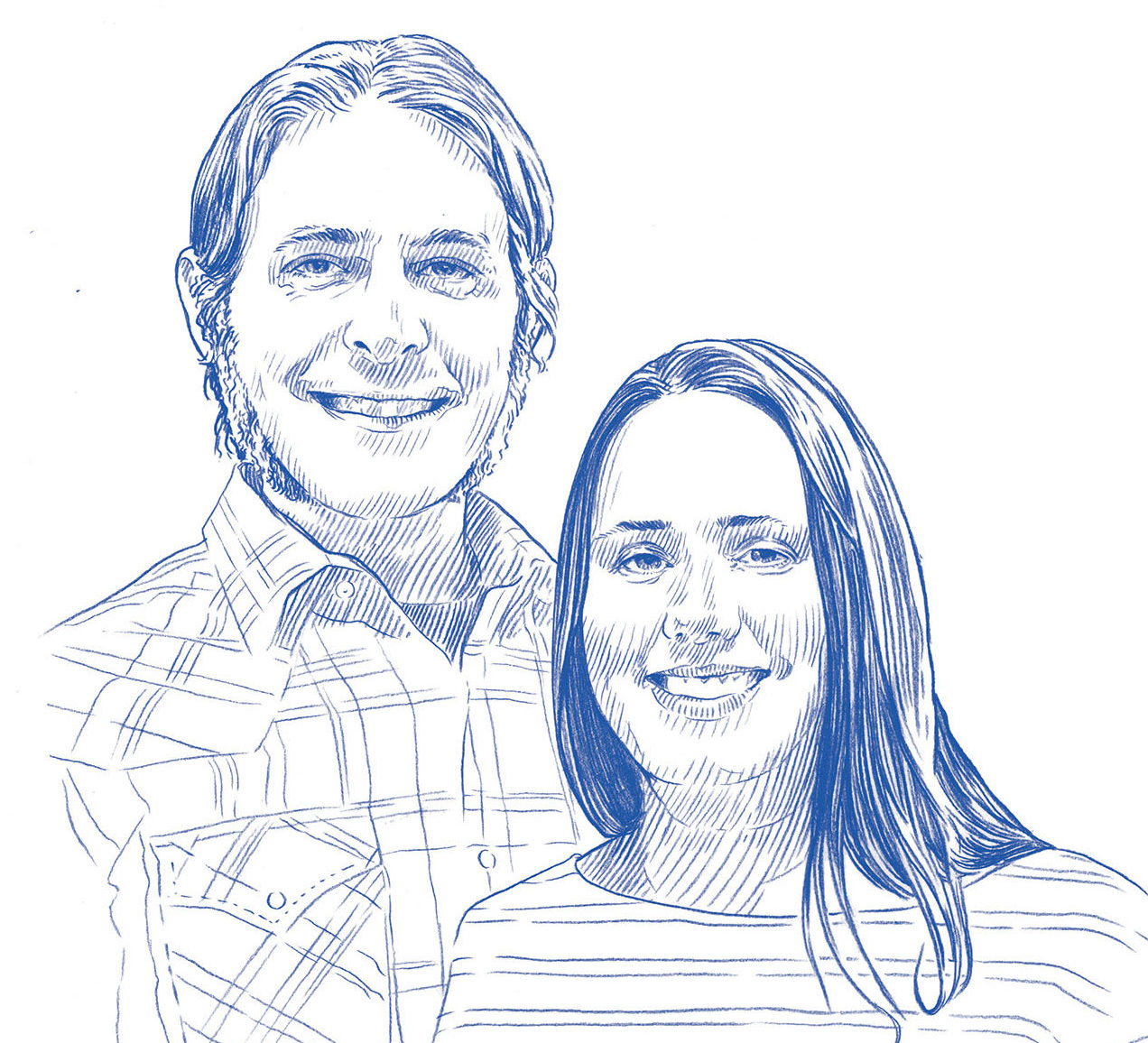 Artist couples, Josh and Melissa