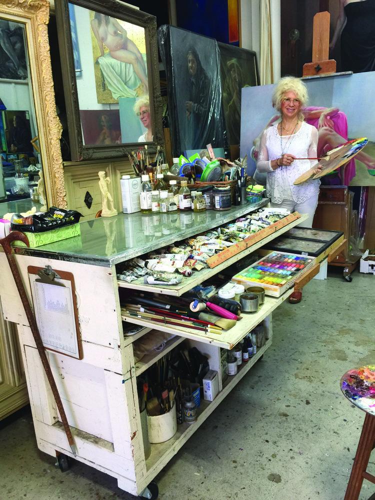 taboret ken Goldman studio staples artistsnetwork
