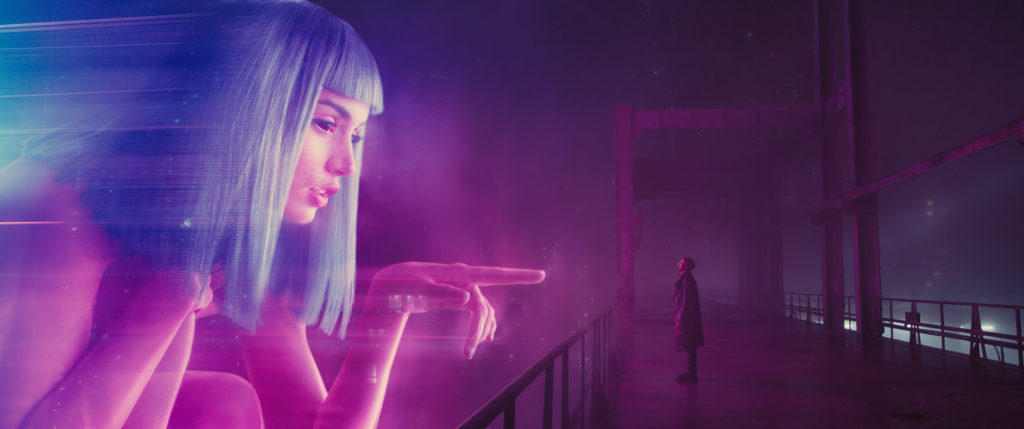 Oscars Time! Blade Runner 2049 film still.
