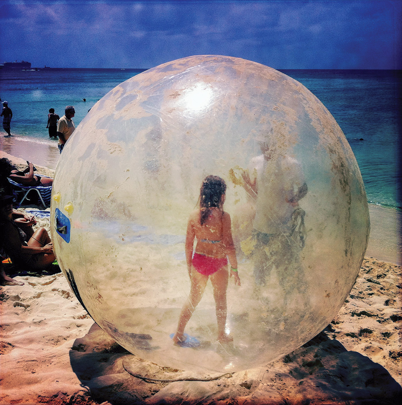 Bubble Girl, the Cayman Islands by Robert Herman