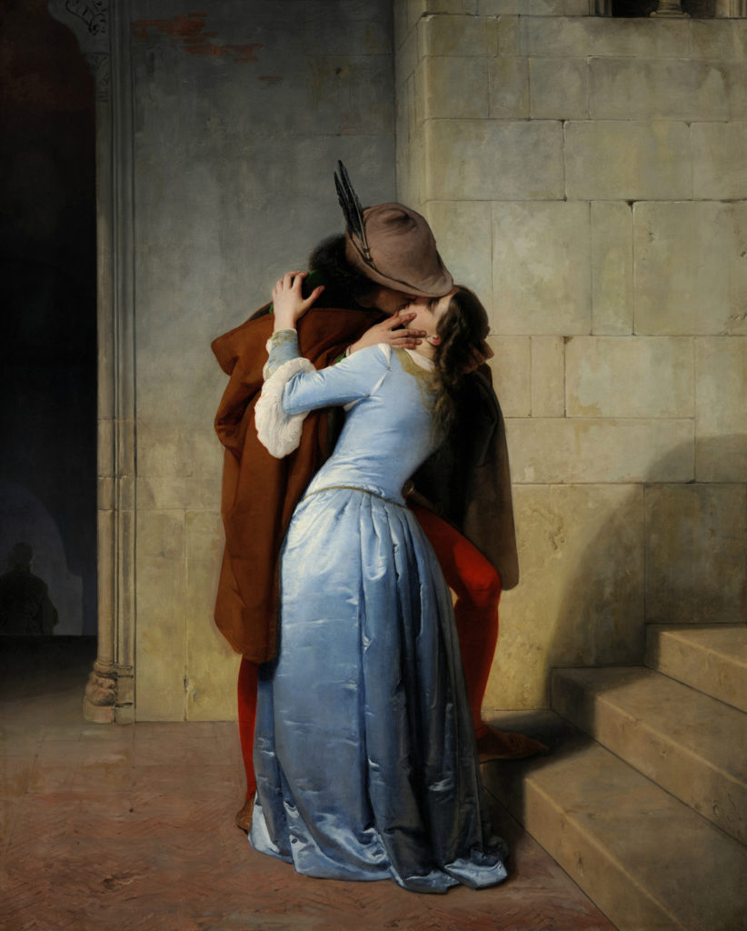 El Beso by Francesco Hayez
