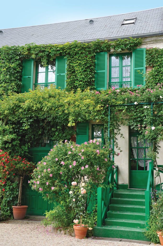 Monet's house in Giverny.