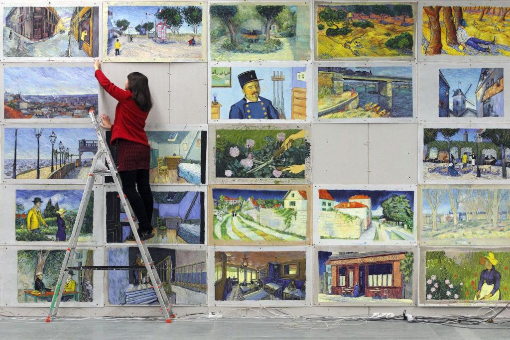 Loving Vincent Artists on Set | Artists Network