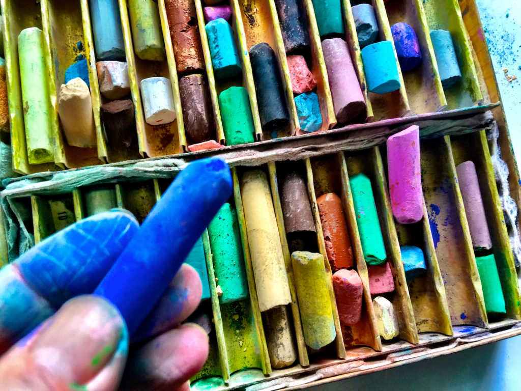 Pastel Sticks | Getty Images | Artists Network