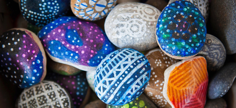 Rock Painting | Getty Images