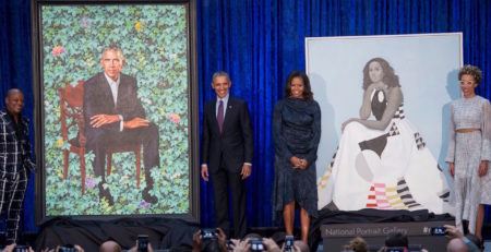 Presidential Portraits | Obama Portraits | Unveiling of Presidential Portraits of the Obamas | Artists Network