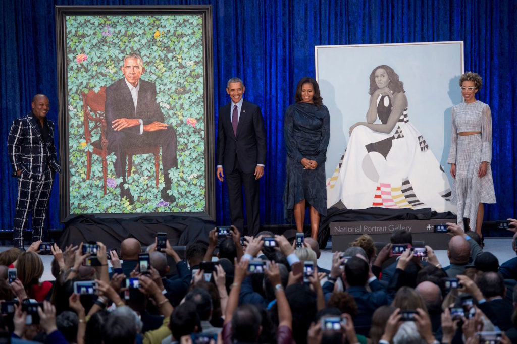 Presidential Portraits | Obama Portraits | Unveiling of Presidential Portraits of the Obamas | Artists Network